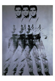 Andy Warhol - Elvis třikrát (Triple Elvis, 1963) Plakát