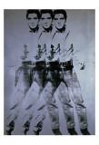 Elvis Triplo, 1963 Pôsters por Andy Warhol