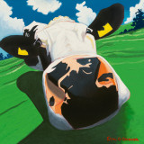 Cow III, Dizzy Cow Print by Eoin O'Connor