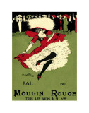 Bal du Moulin Rouge Lámina