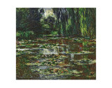 The Bridge Over the Water Lily Pond, c.1905 Plakater af Claude Monet