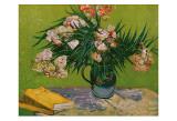 Still Life with Oleander Kunstdrucke von Vincent van Gogh
