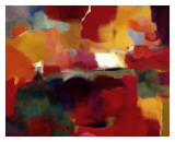 Lustrous Season Print by Nancy Ortenstone