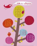 Times Tables Prints by Isabelle Chauvet