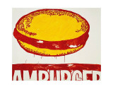 Hamburger, c.1985-86 Art by Andy Warhol