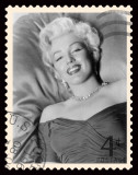 Movie Stamp V Prints by  The Vintage Collection