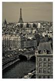 Paris Rooftops Affiches par Sabri Irmak