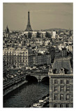 Paris Rooftops Posters by Sabri Irmak