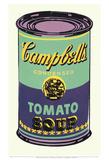 Lattina di zuppa Campbell's, 1965 (verde e viola) Stampe di Andy Warhol