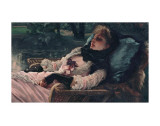 The Dreamer, of Summer Evening, c.1881 Print by James Tissot