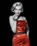 Lady In Red II Posters by  The Chelsea Collection