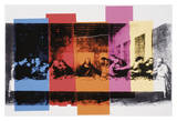 La Cène (détail)|Detail of the Last Supper, vers 1986 Affiches par Andy Warhol