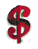 Dollar Sign, 1981 Posters by Andy Warhol