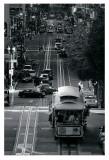 Les rues de San Francisco Poster par Sabri Irmak