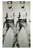 Double Elvis, vers 1963 Affiches par Andy Warhol