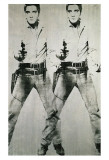 Double Elvis, c.1963 Print by Andy Warhol