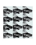 Twelve Cars, 1962 Art by Andy Warhol