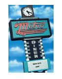 Metro Diner Poster af Anthony Ross