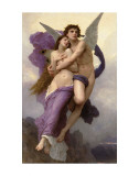 Ravishment of Psyche Art by William Adolphe Bouguereau