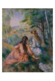 Dans le pré Affiche par Pierre-Auguste Renoir