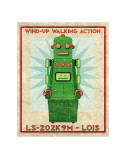 Lois Box Art Robot Posters van John Golden