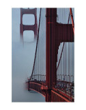 Golden Gate Bridge Print by Sabri Irmak