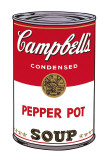 Campbell&#39;s Soup I: Pepper Pot, c.1968 Prints by Andy Warhol