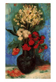 Vase with Carnations and Other Flowers, c.1886 Posters van Vincent van Gogh
