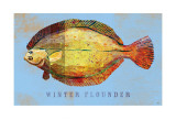 Winter Flounder Prints by John Golden