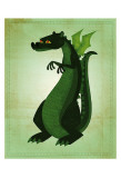 Green Dragon Poster by John Golden