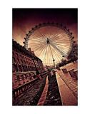 London Eye Posters by Marcin Stawiarz