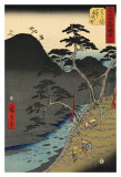 Hakone Poster by Ando Hiroshige