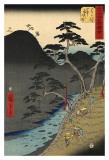 Hakone Prints by Ando Hiroshige