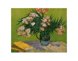 Still Life with Oleander Print by Vincent van Gogh