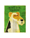 Wire Fox Terrier Print by John Golden