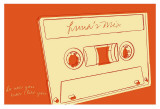 Lunastrella Mix Tape Prints by John Golden