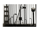 Golden Gate Bridge in Silhouette Print by Christian Peacock