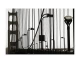 Golden Gate Bridge in Silhouette Print by Christian Peacock