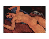 Rose pastel Affiches par Amedeo Modigliani