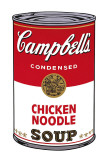 Sopa Campbell I: noodle de galinha, cerca de 1968 Pôsters por Andy Warhol