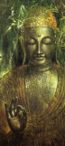 Buddha in Green l Poster by Wei Ying-wu