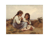 Childhood Idyll Prints by William Adolphe Bouguereau