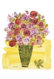 (Stamped) Basket of Flowers, 1958 Kunstdruck von Andy Warhol