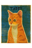 Tabby (orange) Poster by John Golden
