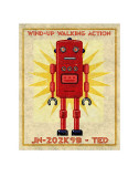 Ted Box Art Robot Prints by John Golden