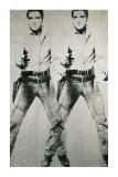 Dobbelt Elvis, ca. 1963 Plakat af Andy Warhol