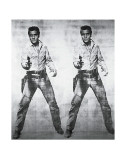 Elvis - 1963 Poster von Andy Warhol