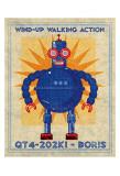 Boris Box Art Robot Posters by John Golden