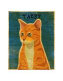 Tabby (orange) Posters van John Golden