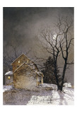 Working Late Print by Ray Hendershot